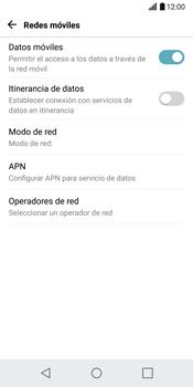 LG G6 - Internet - Configurar Internet - Paso 6