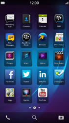 BlackBerry Z30 - MMS - Manual configuration - Step 1