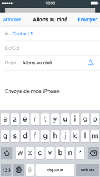 Apple iPhone SE - E-mails - Envoyer un e-mail - Étape 7