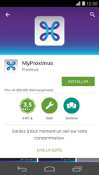 Huawei Ascend P7 - Applications - MyProximus - Étape 7