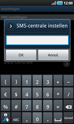 Samsung I9000 Galaxy S - SMS - handmatig instellen - Stap 5
