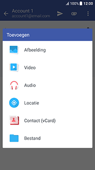 HTC U11 - E-mail - hoe te versturen - Stap 12