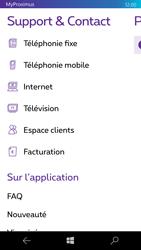 Microsoft Lumia 950 - Applications - MyProximus - Étape 23