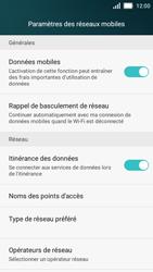 Huawei Y5 - Aller plus loin - Désactiver les données à l'étranger - Étape 5