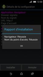 HTC Desire 320 - Internet - Configuration automatique - Étape 7