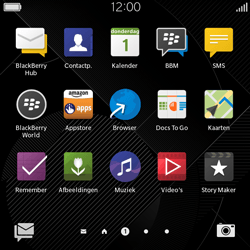 BlackBerry Classic - SMS - Handmatig instellen - Stap 3