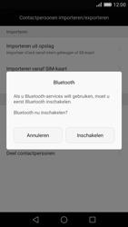 Huawei P8 - Contactgegevens overzetten - delen via Bluetooth - Stap 9