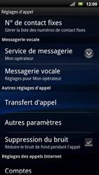 Sony Ericsson Xperia Neo - Messagerie vocale - configuration manuelle - Étape 6