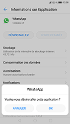 Honor 6A - Applications - Supprimer une application - Étape 7