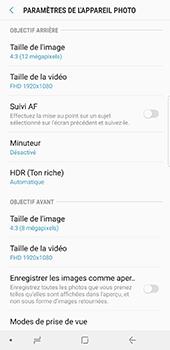 Samsung Galaxy Note 8 - Photos, vidéos, musique - Créer une vidéo - Étape 10