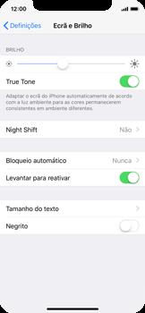 Apple iPhone X - Segurança - Bloqueio automático do ecrã -  4