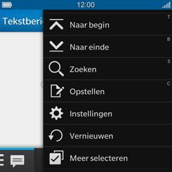 BlackBerry Q10 - MMS - handmatig instellen - Stap 4