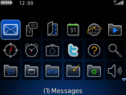 BlackBerry 9300 Curve 3G - Settings - Configuration message received - Step 8