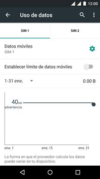 Motorola Moto X Play - Internet - Activar o desactivar la conexión de datos - Paso 5