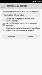 Huawei Ascend G6 - E-mail - Configurer l