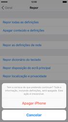 Apple iPhone 6 iOS 9 - Repor definições - Como repor definições de fábrica do telemóvel -  8