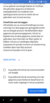 Samsung galaxy-a8-2018-sm-a530f-android-oreo - Applicaties - Account aanmaken - Stap 15