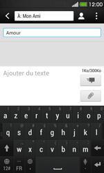 HTC Desire 500 - MMS - envoi d'images - Étape 9
