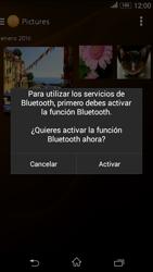 Sony Xperia E4g - Bluetooth - Transferir archivos a través de Bluetooth - Paso 14