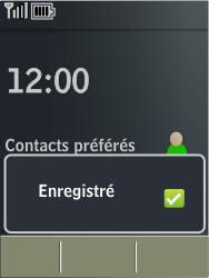 Nokia X3-02 - MMS - Configuration automatique - Étape 5