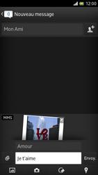Sony LT28h Xperia ion - MMS - Envoi d
