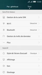 Huawei Y635 Dual SIM - WiFi et Bluetooth - Jumeler votre téléphone avec un accessoire bluetooth - Étape 3
