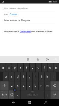 Microsoft Lumia 950 XL - E-mail - e-mail versturen - Stap 7