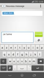Sony Xpéria Z3 - Contact, Appels, SMS/MMS - Envoyer un SMS - Étape 8