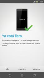 Sony Xperia Z1 - Primeros pasos - Activar el equipo - Paso 9