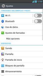 LG Optimus L9 - Mensajería - Configurar el equipo para mensajes multimedia - Paso 4
