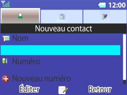 Bouygues Telecom Bc 311 - Contact, Appels, SMS/MMS - Ajouter un contact - Étape 6