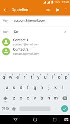 Wiko U-Feel Lite - E-mail - E-mails verzenden - Stap 6