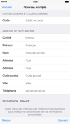 Apple iPhone 6 Plus - Applications - Créer un compte - Étape 20