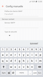 Samsung Galaxy S6 - Android M - E-mail - Configuration manuelle - Étape 10