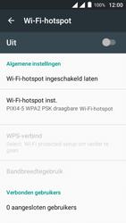Alcatel Pixi 4 (5) 4G (5045X) - WiFi - Mobiele hotspot instellen - Stap 7