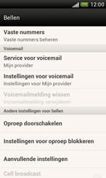 HTC T328e Desire X - Voicemail - Handmatig instellen - Stap 5
