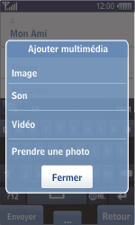 Samsung S8500 Wave - MMS - envoi d'images - Étape 11