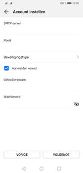 Huawei mate-20-dual-sim-hma-l29 - E-mail - Account instellen (POP3 met SMTP-verificatie) - Stap 16