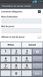 LG Optimus F6 - E-mails - Ajouter ou modifier un compte e-mail - Étape 13