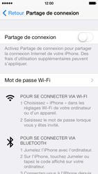 Apple iPhone 5 - Internet et connexion - Utiliser le mode modem par USB - Étape 6