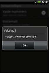 HTC A6262 Hero - Voicemail - Handmatig instellen - Stap 7