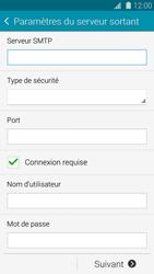 Samsung G900F Galaxy S5 - E-mail - Configuration manuelle - Étape 13