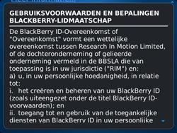 BlackBerry 9720 Bold - BlackBerry activeren - BlackBerry ID activeren - Stap 7