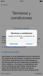 Apple iPhone 6s iOS 9 - Primeros pasos - Activar el equipo - Paso 22