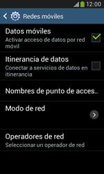 Samsung S7580 Galaxy Trend Plus - Mensajería - Configurar el equipo para mensajes multimedia - Paso 6