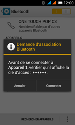 Alcatel OT-4033X Pop C3 - Bluetooth - connexion Bluetooth - Étape 9