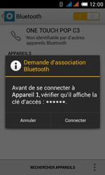 Alcatel OT-4033X Pop C3 - Bluetooth - Jumeler avec un appareil - Étape 7