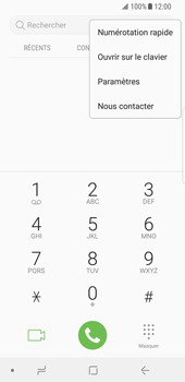 Samsung Galaxy S8 - Android Oreo - Messagerie vocale - Configuration manuelle - Étape 5