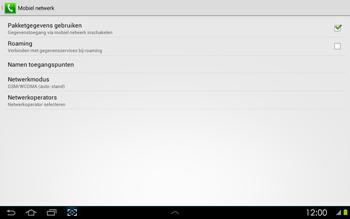 Samsung P5100 Galaxy Tab 2 10-1 - Internet - Internet gebruiken in het buitenland - Stap 8