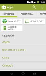 Sony D2105 Xperia E1 Dual - Aplicativos - Como baixar aplicativos - Etapa 6